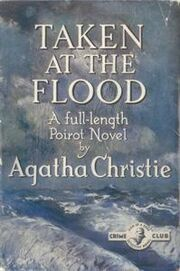 Taken at the Flood First Edition Cover 1948