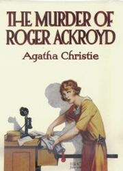 The Murder of Roger Ackroyd First Edition Cover 1926