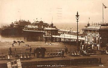 Brighton West Pier circa 1920