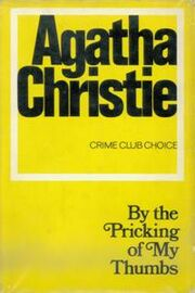 By the Pricking of my Thumbs First Edition Cover 1968