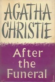 After the Funeral First Edition Cover 1953