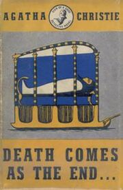 Death Comes as The End First Edition Cover 1945
