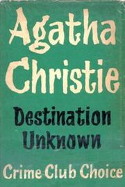 Destination Unknown First Edition Cover 1954