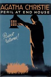 Peril at End House First Edition Cover 1932