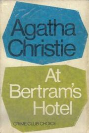 At Bertram's Hotel First Edition Cover 1965