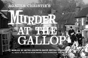 Murder at the gallop titel