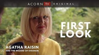 Agatha Raisin and the Wizard of Evesham First Look
