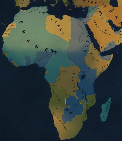 Uni africa ww2