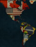 Aoc americas flags