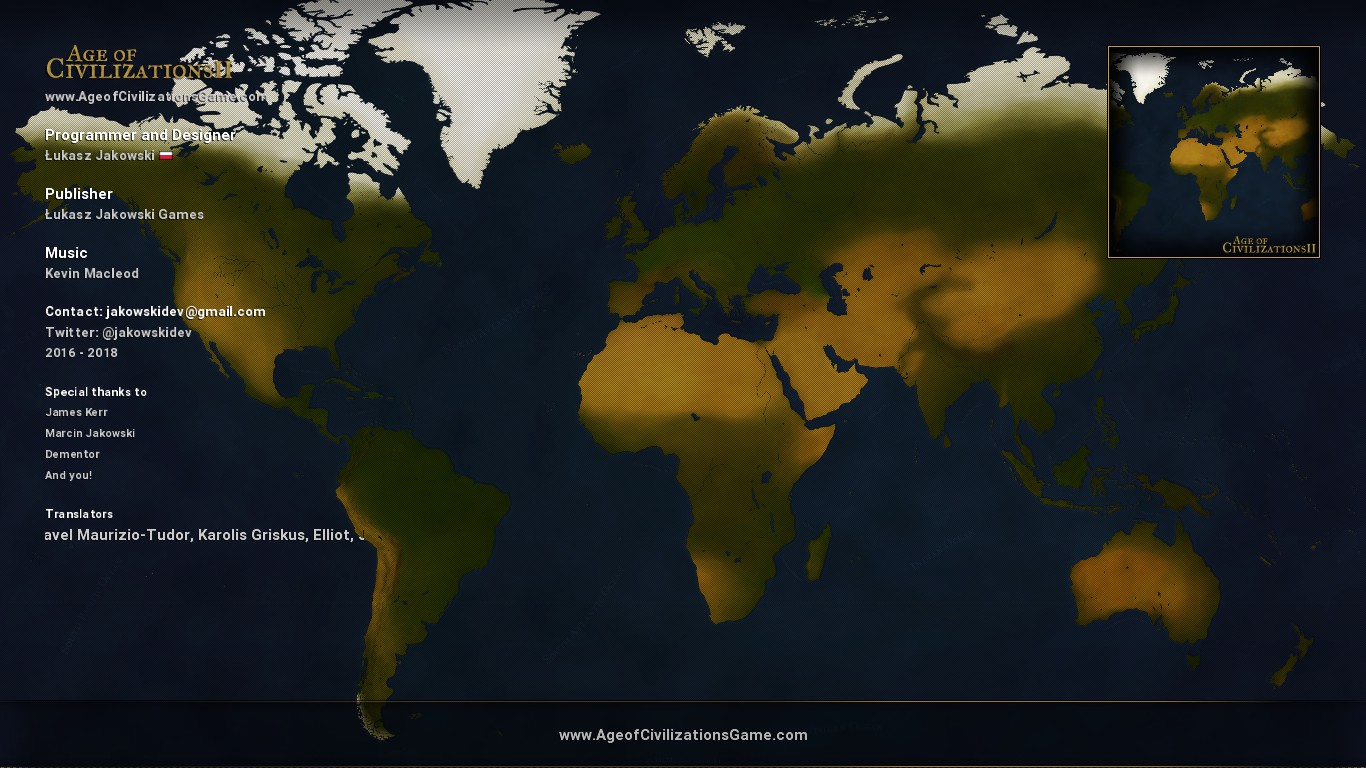 age of civilizations 2 map download