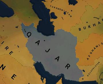 QAJAR MAP