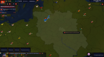 Map army