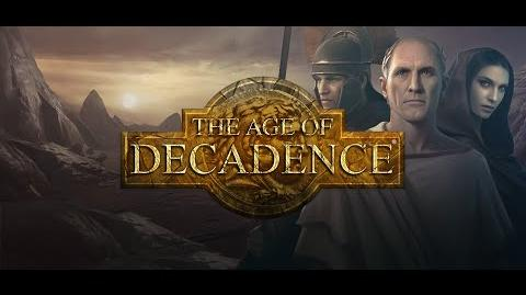 The Age of Decadence Trailer