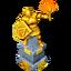 Reward big statue