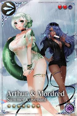 Arthur & Mordred+1