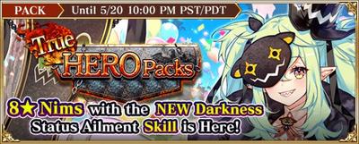 True Hero Packs (Nims)