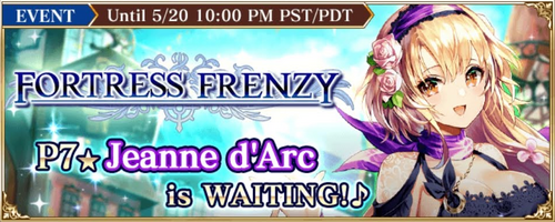 Fortress Frenzy (GW Null Jeanne)