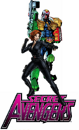 Judge Dredd joins Secret Avengers