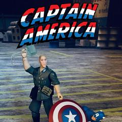 Captain America 13 Action Figure Variant