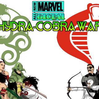 HYDRA-COBRA War Promotional Art