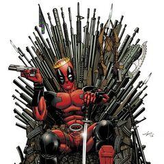 The Death-Denying Deadpool Promo Art