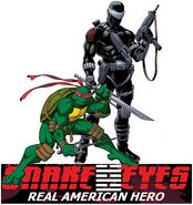 Raphael joins Snake Eyes
