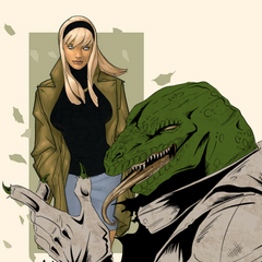 The Cold-Blooded Lizard Promo Art