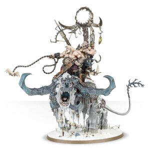Stonehorn Beastriders Beastclaw Raiders Miniature