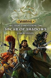 Eight Lamentations Spear of shadows cover