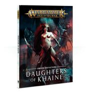 Daughters of Khaine Battletome Cover