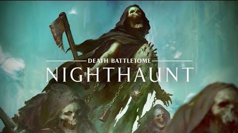Warhammer Age of Sigmar - Battletome Nighthaunt - Pre-order Now!