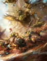Ironjawz Gore-gruntas vs Stormcast Eternals Prosecutors Colour Illustration.png