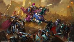 Dracothian Guard vs Rotbringers