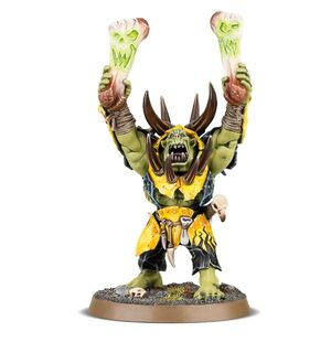 Warchanter Ironjawz Orruks Miniature