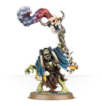 Weirdnob Shaman Ironjawz Orruks Miniature