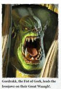 Gordrakk, the Fist of Gork 01