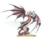 Morathi, The Shadow Queen, her true, monstrous form