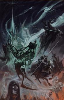 Mortis Engine into battle