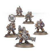 Grundstok Thunderers Kharadron miniatures