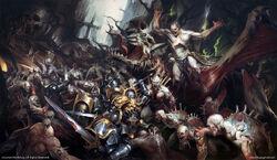 Anvils of the Heldenhammer vs Flesh-eaters