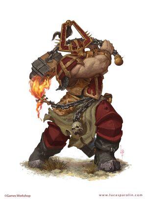 Skullgrinder Bloodbound Illustration