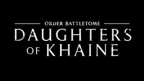 The Daughters of Khaine The Lore