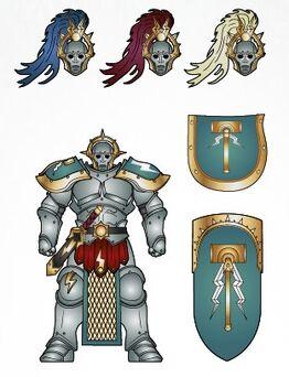 Knights of the Aurora Stormcast Eternals scheme