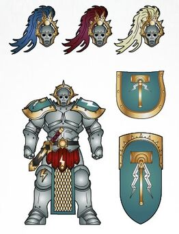 Knights of the Aurora Stormcast Eternals scheme