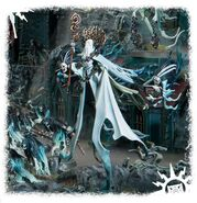 Lady Olynder, Mortarch of Grief miniature 02