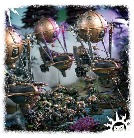 File:Grundstok Gunhaulers Arkanauts Kharadron diorama.jpg