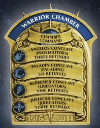 Warrior chamber