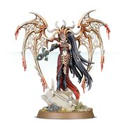 Morathi, the High Oracle of Khaine, her aelven form