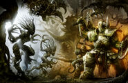 Sylvaneth vs Rotbringers