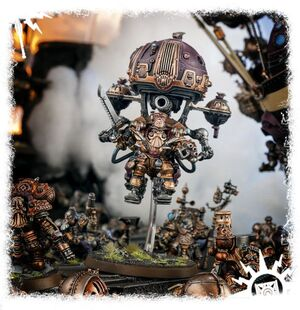 Brokk Grungsson Kharadron diorama